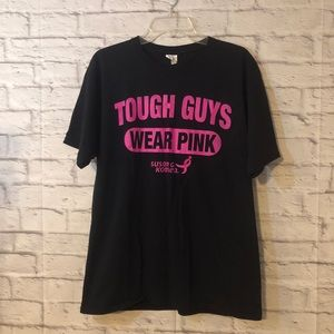Men's Breast Cancer Awareness T Shirt October